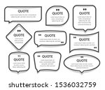 quote frames textboxes blank... | Shutterstock . vector #1536032759