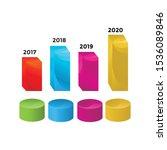 3d infographic template design... | Shutterstock .eps vector #1536089846