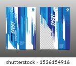 sport layout   template design  ... | Shutterstock .eps vector #1536154916