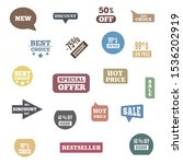 premium quality labels for... | Shutterstock .eps vector #1536202919