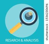 vector illustration of research ... | Shutterstock .eps vector #1536230696