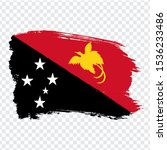 flag papua new guinea from...