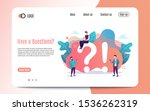 informative poster inscription... | Shutterstock .eps vector #1536262319