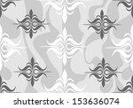 vintage seamless wallpaper. ... | Shutterstock .eps vector #153636074