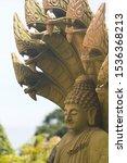 Buddha Statue With The Heads O...