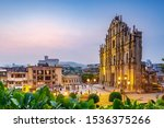 The Ruins Of St. Paul\'s In...