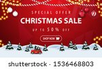 special offer  christmas sale ... | Shutterstock .eps vector #1536468803