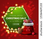 special offer  christmas sale ... | Shutterstock .eps vector #1536469133
