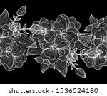 elegant seamless pattern with... | Shutterstock .eps vector #1536524180