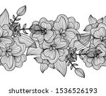 elegant seamless pattern with... | Shutterstock .eps vector #1536526193