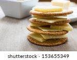 A Stack Of Cheese And Crackers...