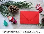 Letter To Santa Claus. Envelop...