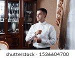 grooms morning preparation ... | Shutterstock . vector #1536604700