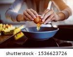 close up of caucasian woman... | Shutterstock . vector #1536623726