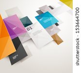 modern colorful design | Shutterstock .eps vector #153664700