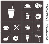 sandwich icon. cafe icons...   Shutterstock .eps vector #1536669269