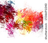 abstract background of colorful ... | Shutterstock . vector #1536691040