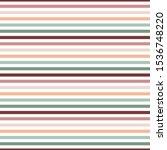 retro stripes seamless pattern  ... | Shutterstock .eps vector #1536748220