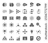 artificial intelligence solid...   Shutterstock .eps vector #1536772799