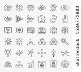 artificial intelligence line... | Shutterstock .eps vector #1536772883