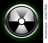 icon radiation | Shutterstock .eps vector #153677960