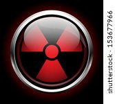 icon radiation | Shutterstock .eps vector #153677966