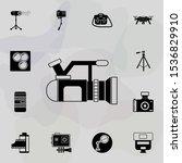 video camera icon. universal...