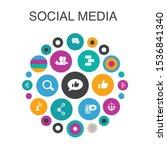 social media  infographic...
