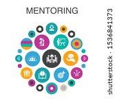 mentoring  infographic circle...