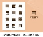 vector isolated icons set of...   Shutterstock .eps vector #1536856409