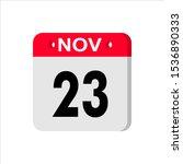november 23   calendar icon....