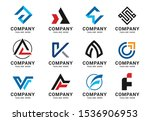 collection logo icons design...   Shutterstock .eps vector #1536906953