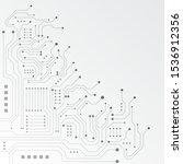 high tech technology geometric...   Shutterstock .eps vector #1536912356