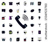 phone call sign icon. universal ...