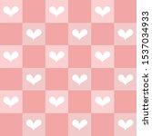 seamless hand drawn sweetest... | Shutterstock .eps vector #1537034933