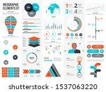 big set of infographic elements....   Shutterstock .eps vector #1537063220