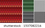 dragon scales seamless pattern  ... | Shutterstock .eps vector #1537082216