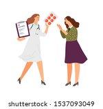 antidepressants rx prescription.... | Shutterstock .eps vector #1537093049