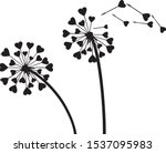 valentines background with love ...   Shutterstock .eps vector #1537095983