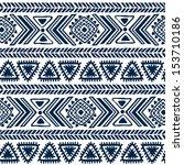 tribal vintage ethnic seamless    Shutterstock .eps vector #153710186