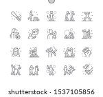 bully well crafted pixel... | Shutterstock .eps vector #1537105856
