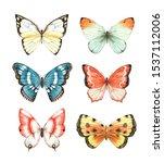 Butterfly Watercolour Clip Art...