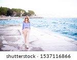 full length shot of relaxed... | Shutterstock . vector #1537116866
