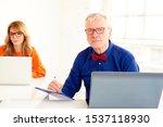 shot of senior businessman... | Shutterstock . vector #1537118930