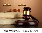 golden scales of justice  gavel