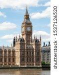 Big Ben In London  United...