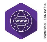 white go to web icon isolated...