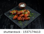 Chicken Wings With Tomato...