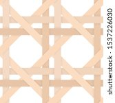rattan background. seamless...   Shutterstock .eps vector #1537226030