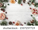 creative frame made of... | Shutterstock . vector #1537257719